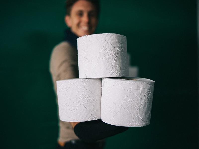 AirPQ, le service de livraison suisse de papier toilette qui plante des arbres
