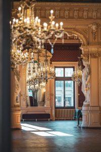 L'intérieur de l'opéra de Genève